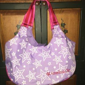 New. American Girl carry bag
